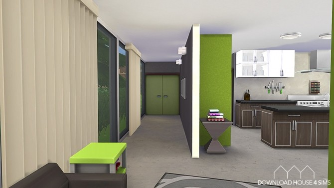 Lime Kitchen Green & Modern
