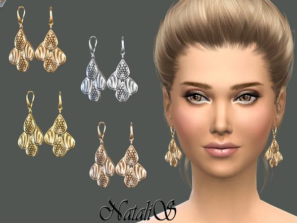 Four Drop Earrings By NataliS