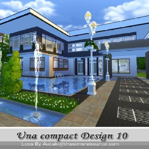 Una Compact Design 10 house by autaki