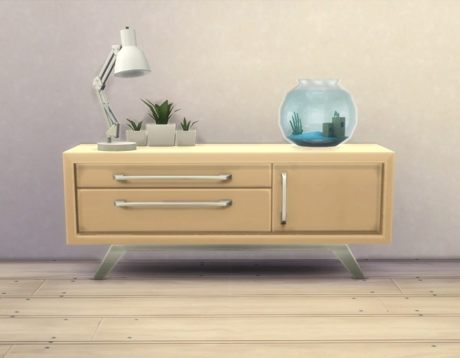 Audrinite Side Table / Dresser By Plasticbox