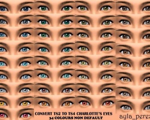 Eye Colors Non Default