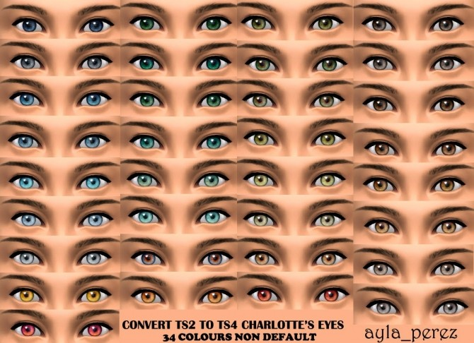 Eye Colors Non Default