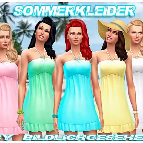Sundresses + summer hats by Bildlichgesehen