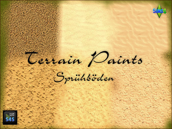 6 Sand Terrain Paints By Mabra