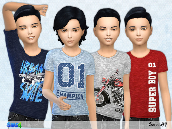 T-shirt With Nice Prints For Boys 17 By Sonata77