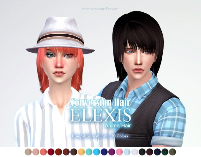 Anime Hair By Elexis Converted