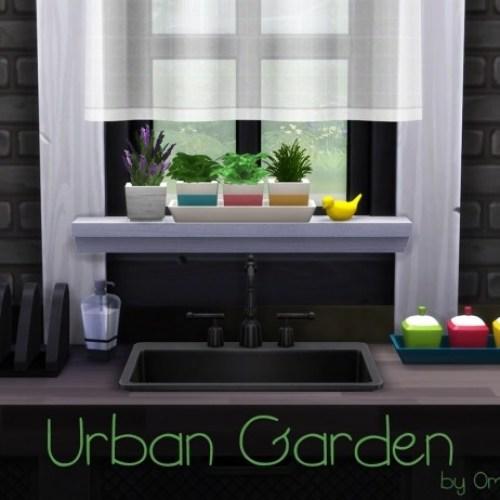 Urban Garden Herb Pots