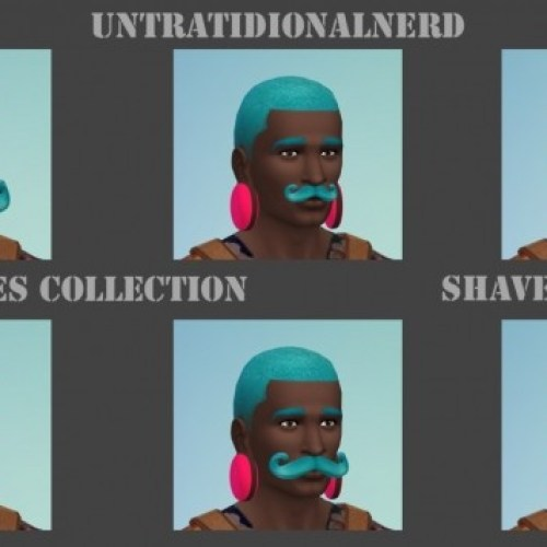 Mustaches Collection Shaved Edition