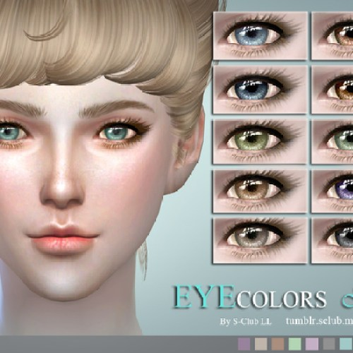Eyecolors 15 by S-Club LL
