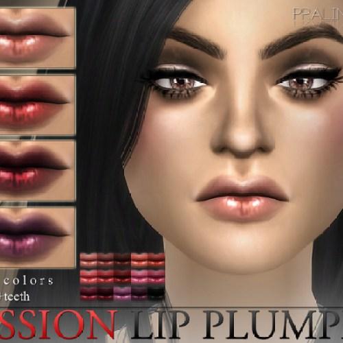 Passion Lip Plumper N29 + Teeth by Pralinesims