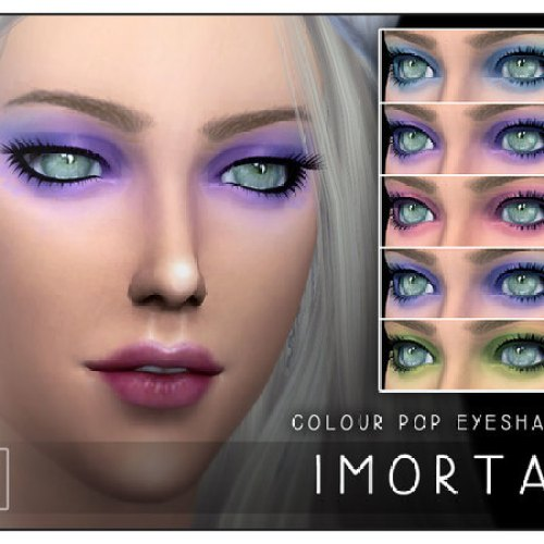 Imortal Colour Pop Eyeshadow by Screaming Mustard