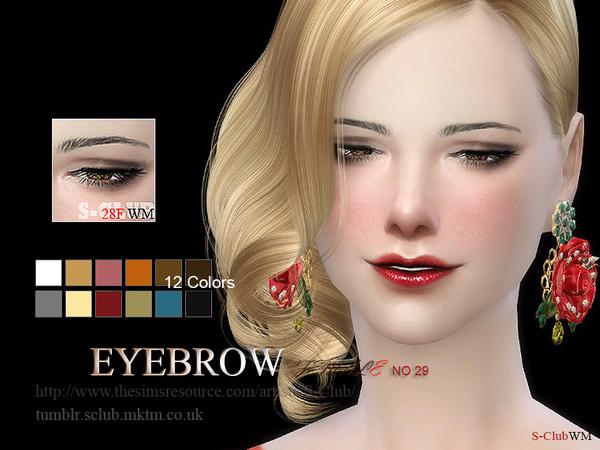 Eyebrows 28F By S-Club WM