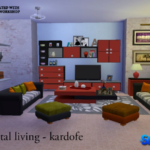 Crystal living by kardofe