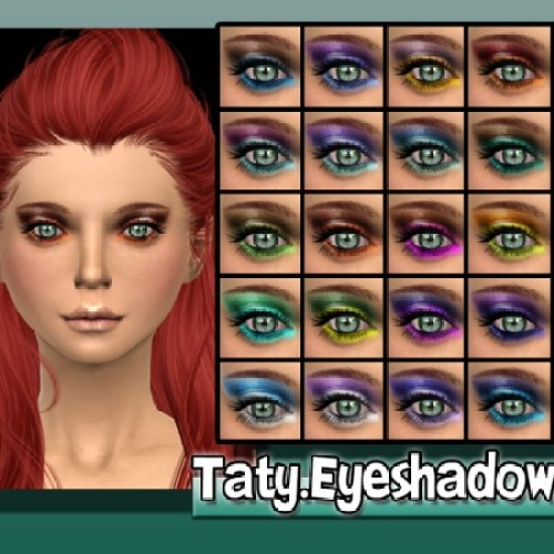 Taty Eyeshadow 12 by tatygagg