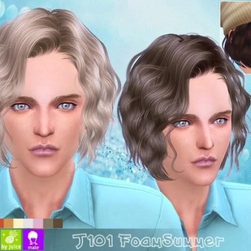 J101 Foam Summer hair males (Pay)