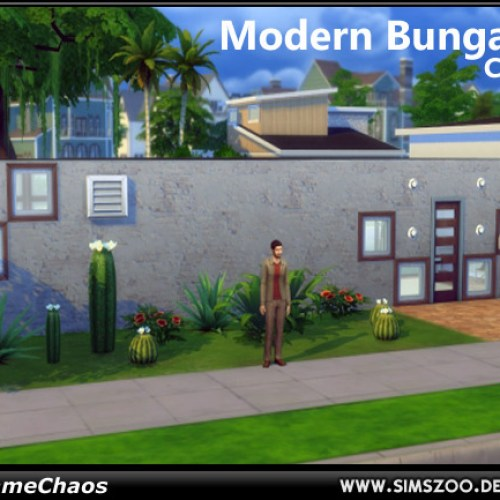 Modern Bungalow by MadameChaos