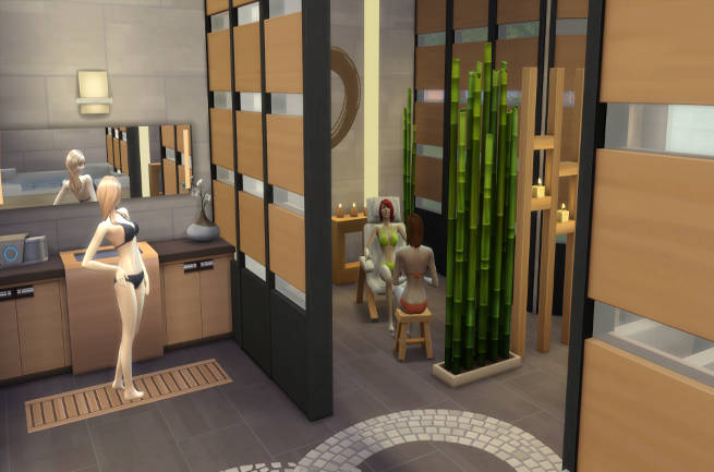 Private Spa By SimsAtelier