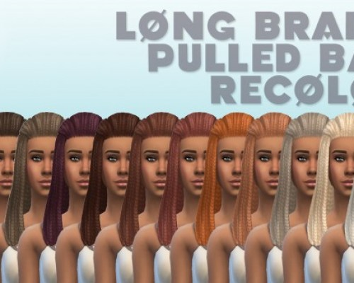 Long Braided hair edit