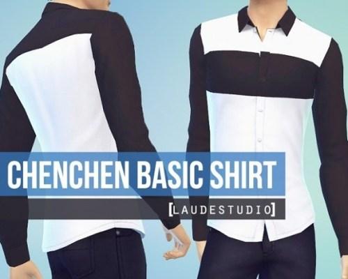 ChenChen Basic Shirt for males