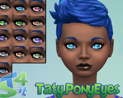 Fantasy eyes default replacement