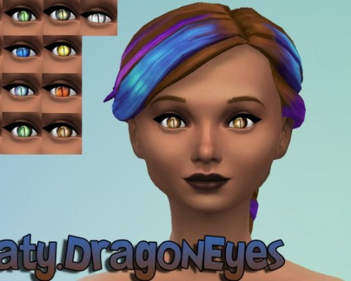 Dragon and Future eyes default