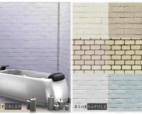 3 Light brick walls