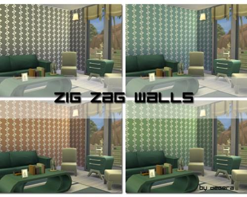 Zig Zag Walls by Degera