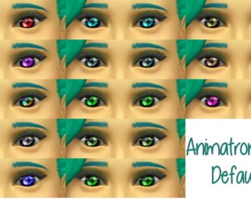 Animatronic eyes default