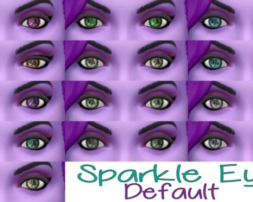 Sparkle Eyes from TS3 to TS4