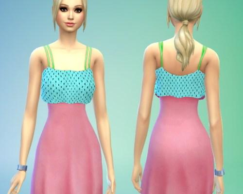 Cute Summer Dress Recolour at Sims