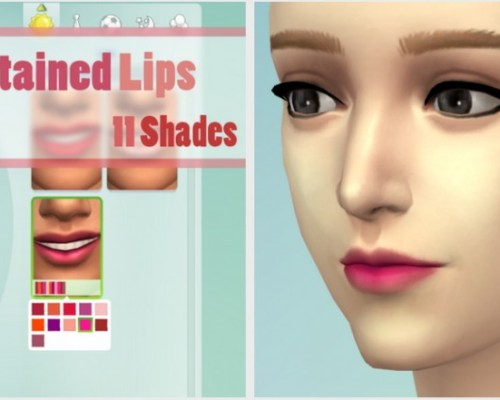 11 Shades of Lip Stains
