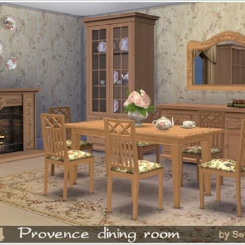 Provence dining room by Severinka