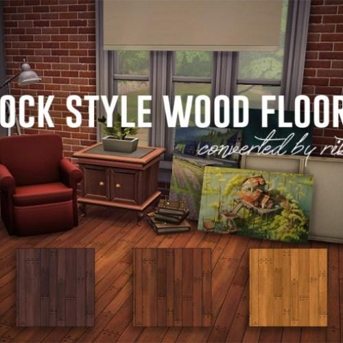 Jock Style wood floors