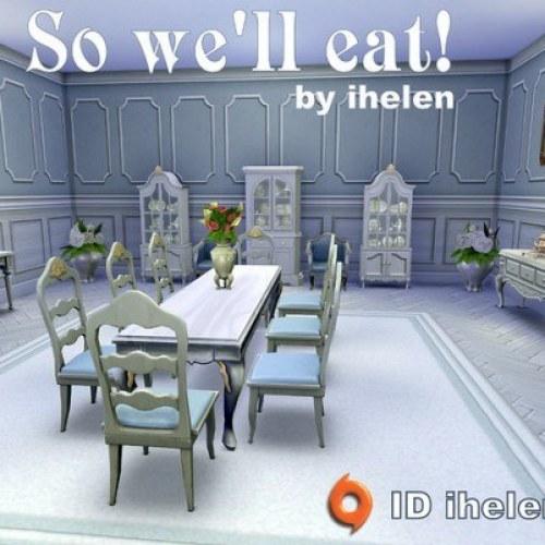 So we'll eat! Diningroom by ihelen