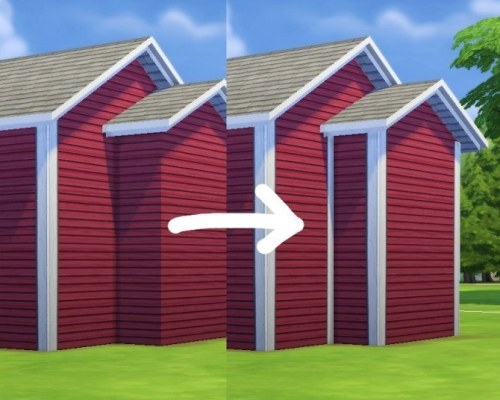 More Corners for Maxis Siding by plasticbox