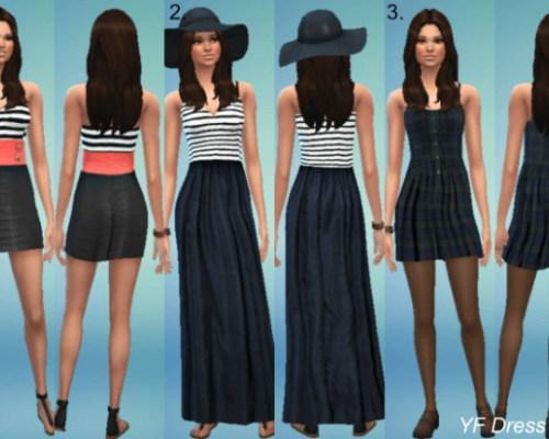 YF dresses set 2
