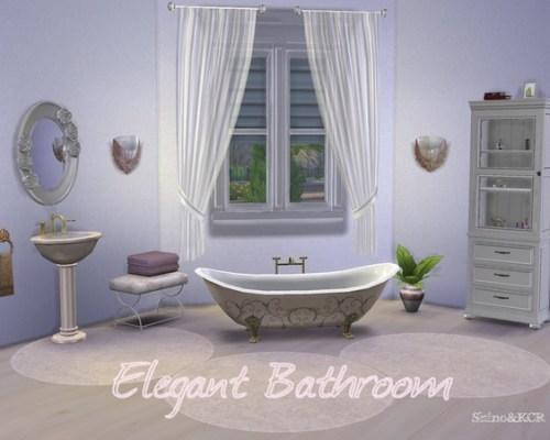 Elegant Bathroom by ShinoKCR