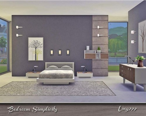 Simplicity Bedroom by ung999