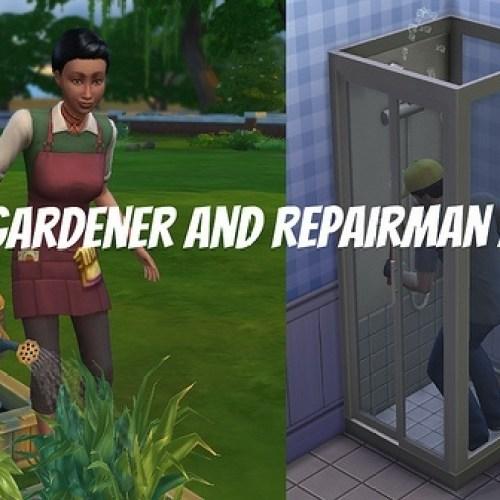 NPC Gardener & Repairman Mods tested