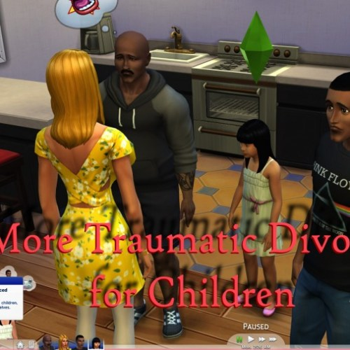 More Traumatic Divorce for Children by scumbumbo