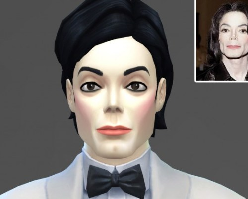 Michael Jackson TS4 model by Lunararc