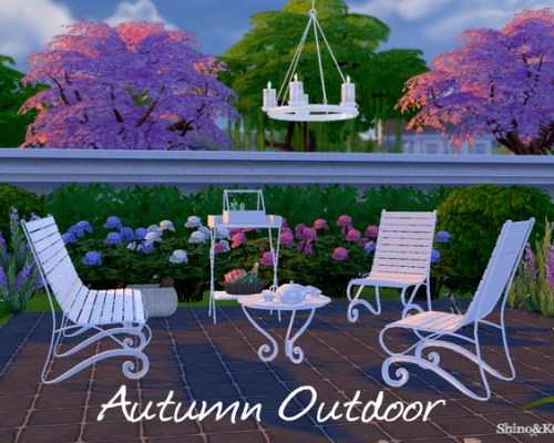 Autumn Outdoor set by ShinoKCR