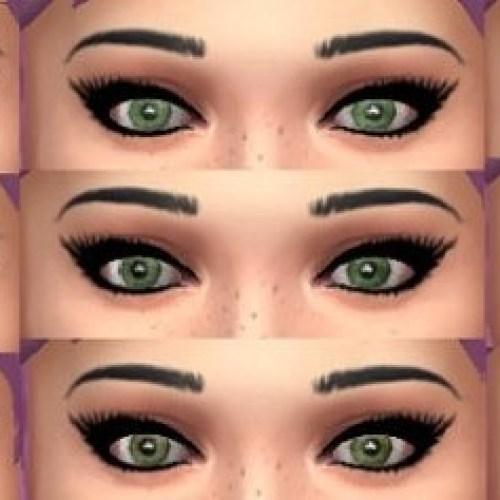 13 default realistic eyes