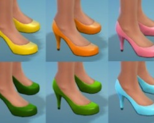 14 High Heel Recolors