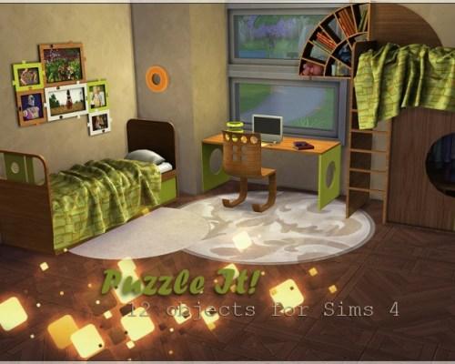 Puzzle It! bedroom set by Li.Ko
