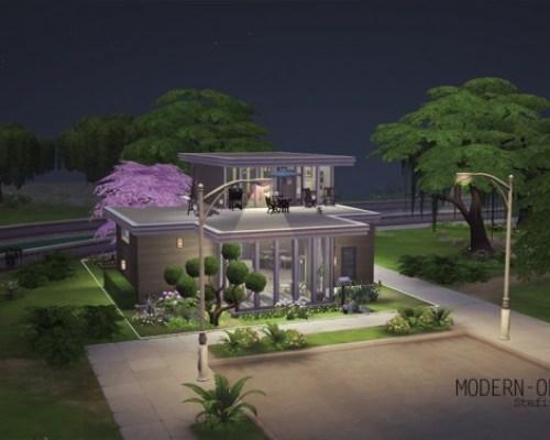 Modern-Oriental house