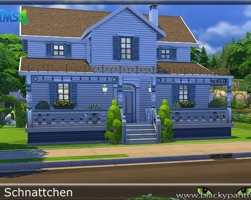 Suburban House 1 by Schnattchen