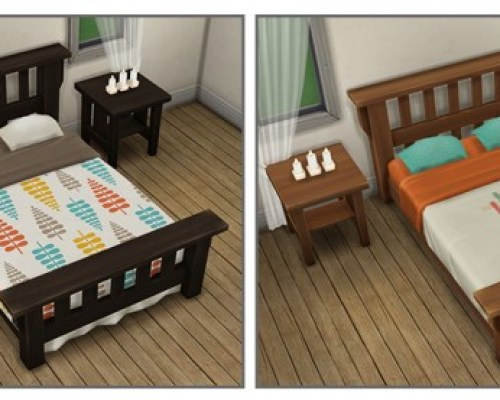 Single Mission Bed Recolors