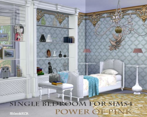 Power of Pink Single Bedroom by ShinoKCR