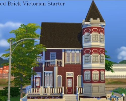 Red Brick Victorian Starter Home by cm_11778 at The